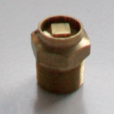 Radiator Bleed Valve Air Vent 1/4 Brass - 07000080